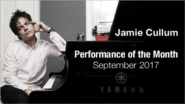 Jamie Cullum - Performance of the Month : September 2017