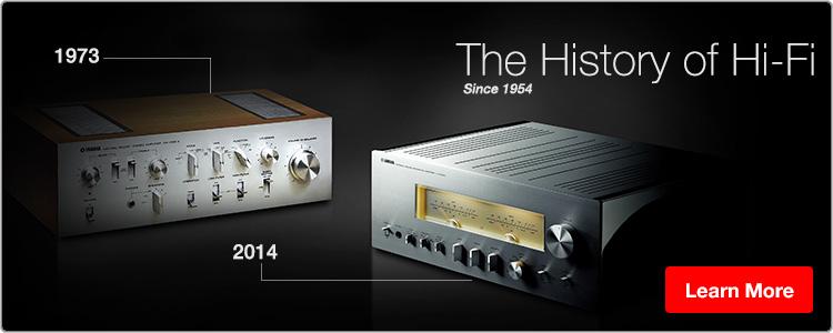 Yamaha History of Hi-Fi