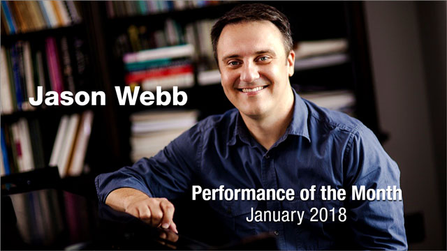 Jason Web Performance of The Month
