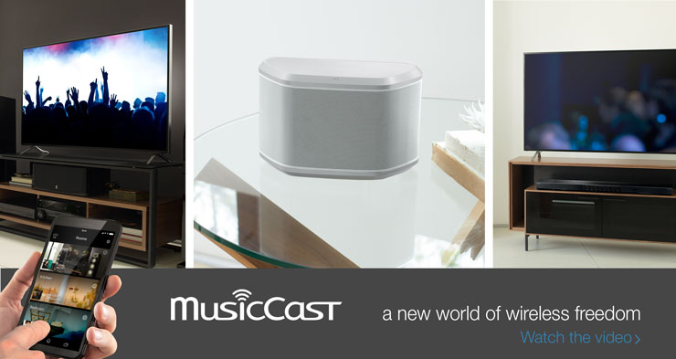 MusicCast Banner