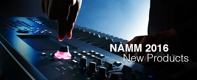 NEW Yamaha Products at Winter NAMM 2016