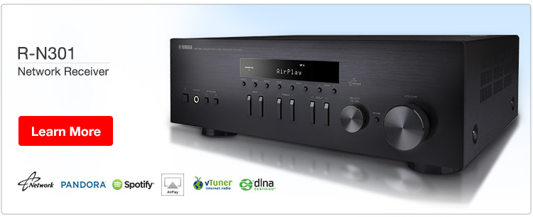 Yamaha R-N301 Network Receiver