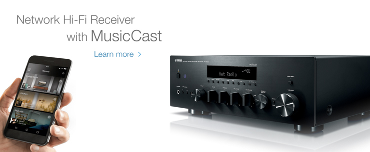 Network Hi-Fi Receiver with MusicCast