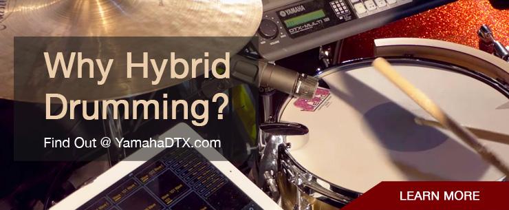 Why Hybrid Drumming?
