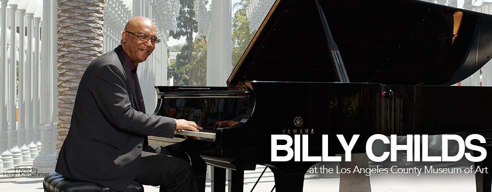 Yamaha artist Billy Childs at the Los Angeles County Museum of Art