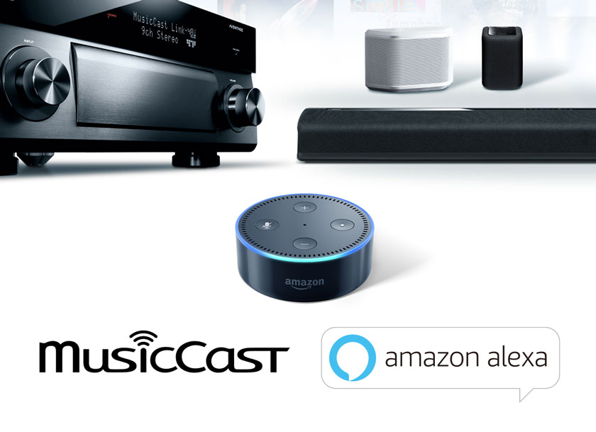 MusicCast with Alexa