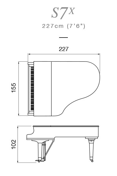 Yamaha S7X Premium Piano