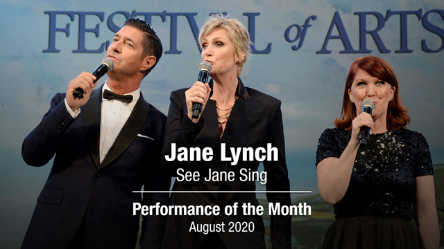 POM: Jane Lynch See Jane Sing : August, 2020