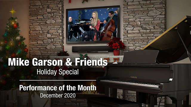 POM: Mike Garson & Friends Holiday Special : December, 2020