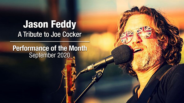 POM: Jason Feddy: A Tribute to Joe Cocker : September, 2020