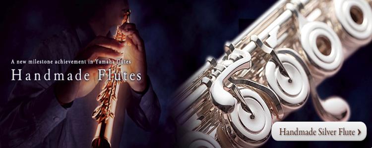 Handmade Silver Flute