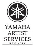 Yamaha Artist Services