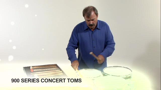 900 Series Concert Toms