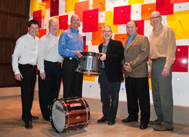 Yamaha Donates Drums to PAS Museum