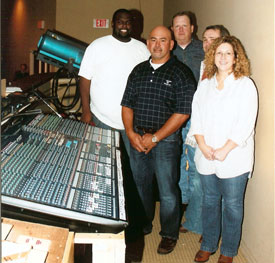 IM8 Mixing Console Saves the Sound at Mississippi Church