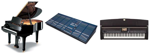 Yamaha Disklavier, IM8 and Clavinova CVP500