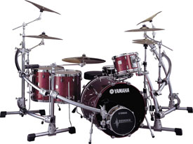 Absolute Drum Kit in Burgundy