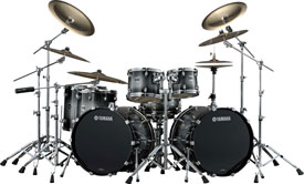 Oak Custom Kit in Black Sparkle