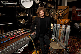 Pat Metheny with all of his instruments