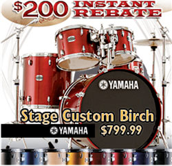 Stage Custom Birch Rebate