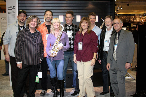 Saxophone Artist Meet & Greet at NAMM