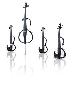 Silent Quartet Finished in Black Sparkle