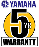 Yamaha Five Year Warranty