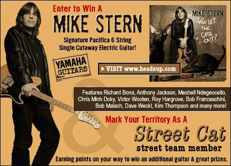 Win a Mike Stern Signature Bass Guitar