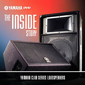 DVD featuring Yamaha Club Series Loudspeaker