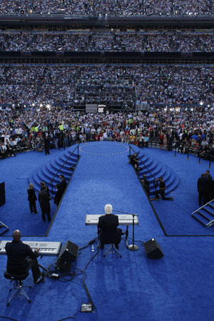 Yamaha Artists & Gear at the Democratic National Convention