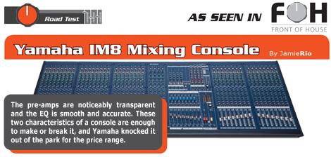 IM8 Analog Mixing Console
