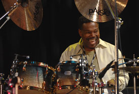 Ndugu Chancler at the Modern Drummer Festival