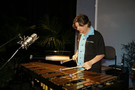 Yamaha Vibraphone Artist Billy Hulting