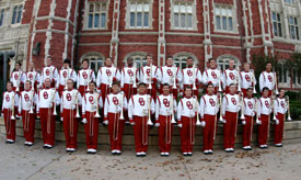 The Pride of Oklahoma Marching Band