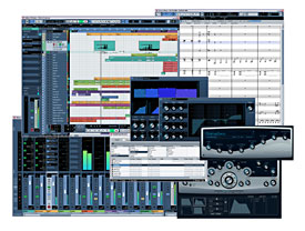 Cubase 4 Screen Shots