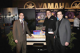 Yamaha accepts Product of the Year award