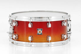 Maple Amber Sunburst Sensitive Series Snare