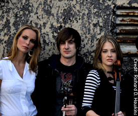 Members of the Sonus Quartet
