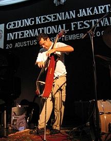 Lorin Cohen in Jakarta