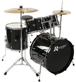 Prospector drum kit in black