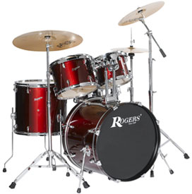 Trailblazer drum kit in red