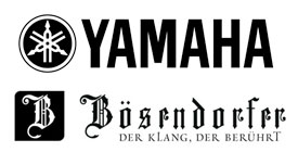 Yamaha and Bosendorfer Logos