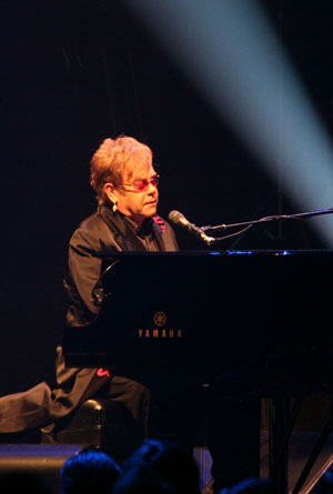 Yamaha Designs Million Dollar Piano for Elton John