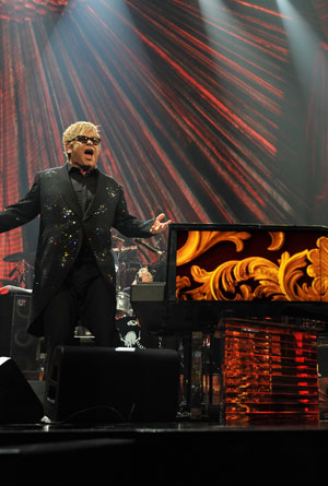 Elton John Triumphantly Returns to Caesar's Palace