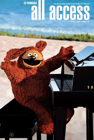 Yamaha Entertainment Group Announces Muppets Sweepstakes Winner