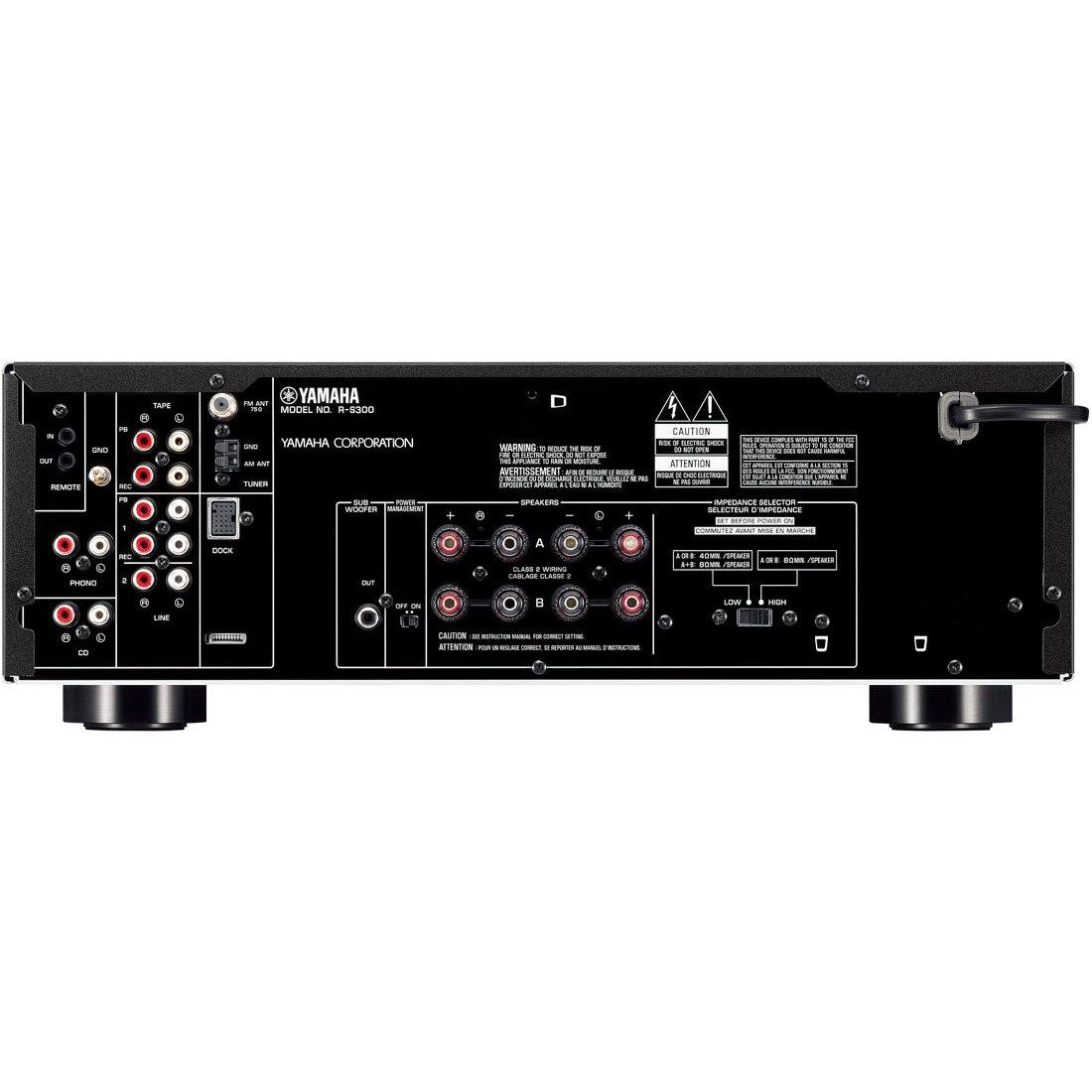 r s300 downloads hi fi components audio visual products rh usa yamaha com Yamaha RS500 Yamaha R 300