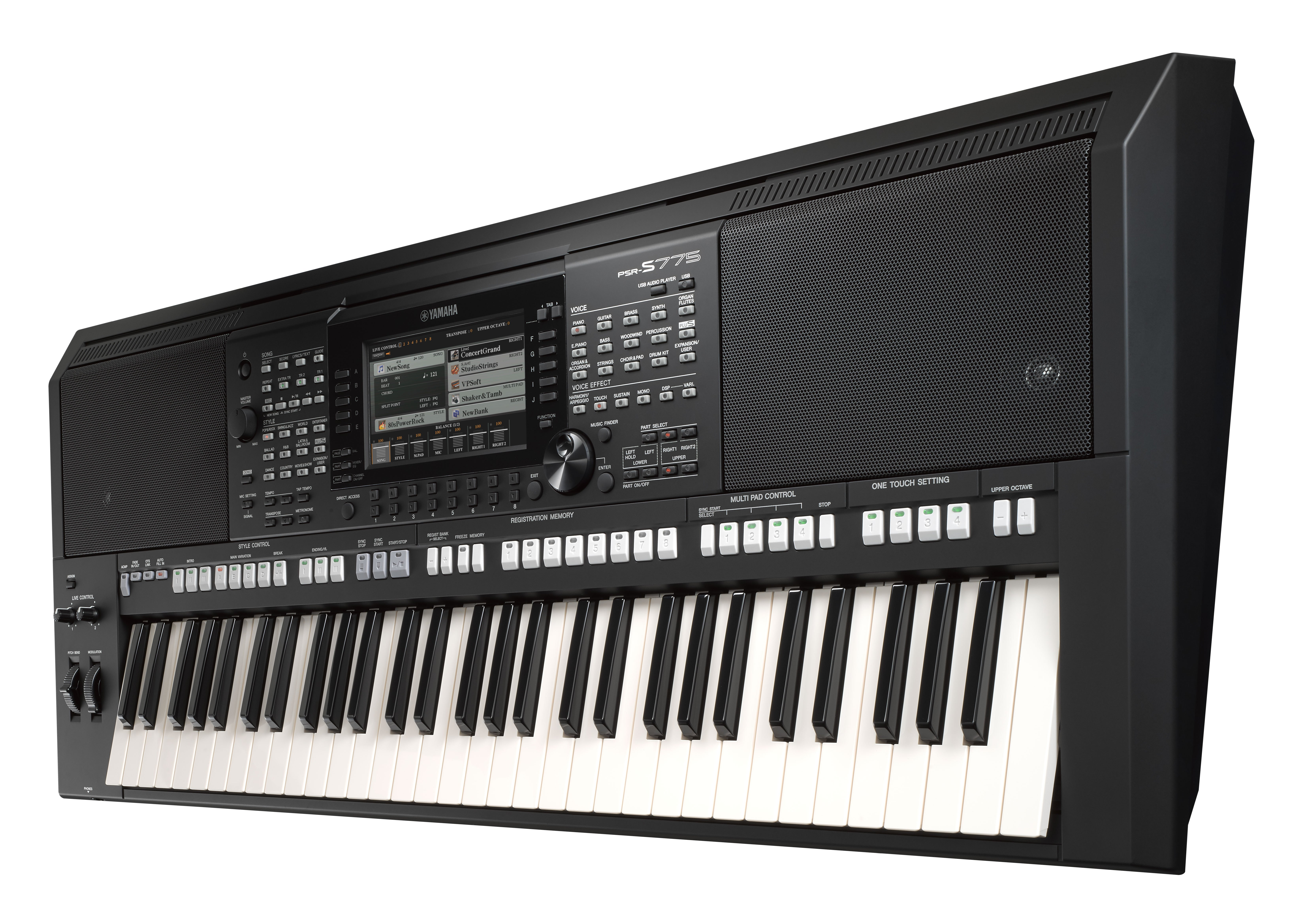 PSR-S775 - Specs - Digital and Arranger Workstations - Keyboard