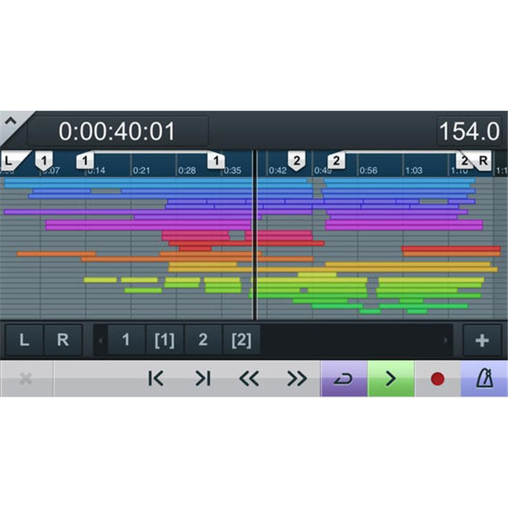 Cubase iC Pro - Overview - Apps for iOS and Android™ - Products