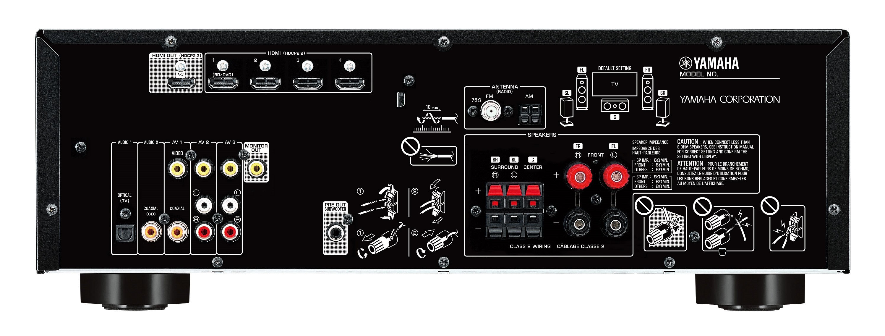 RX-V383 - Overview - AV Receivers - Audio & Visual - Products