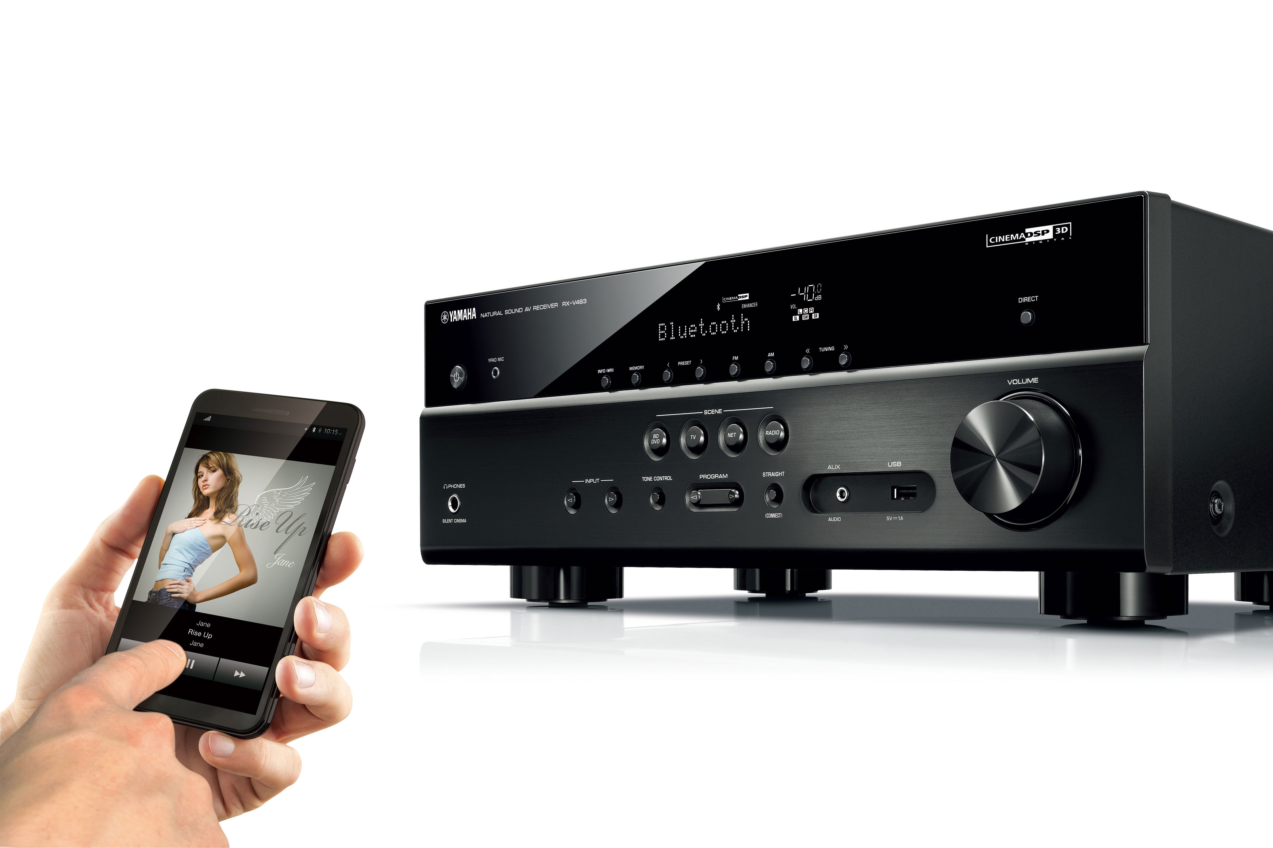 Rx V483 Overview Av Receivers Audio Visual Products Download Image Op Amp Amplifier Circuit Pc Android Iphone And Previous